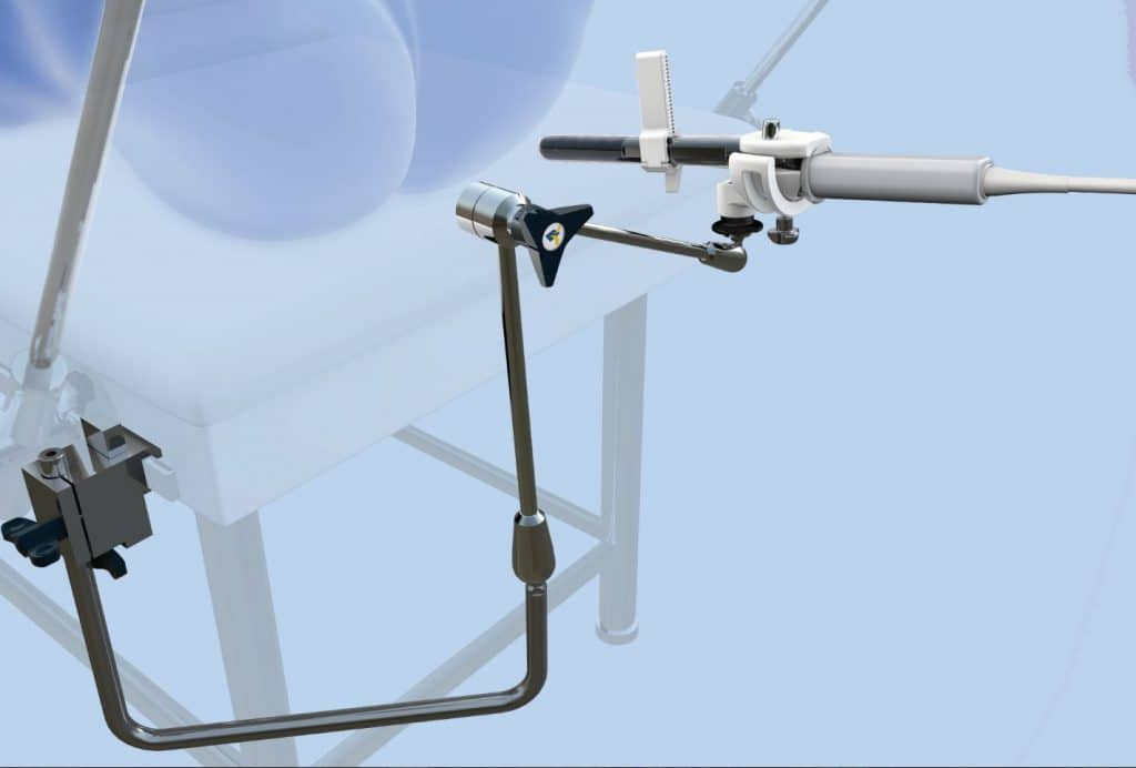 Steady Pro probe holder transperineal transrectal targeted prostate biopsy